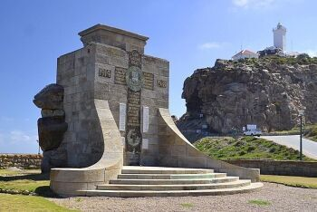 Mossel Bay War Memorial at Cape St. Blaize, The Cave,  Lighthouse Complex, Mossel Bay, Garden Route