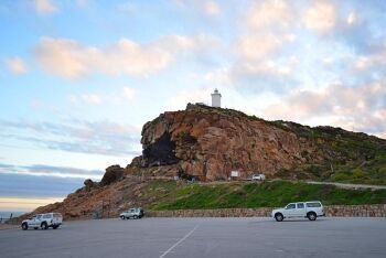 The Cave at Mossel Bay is one of South Africa's oldest archaeological excavations, Garden Route, Western Cape