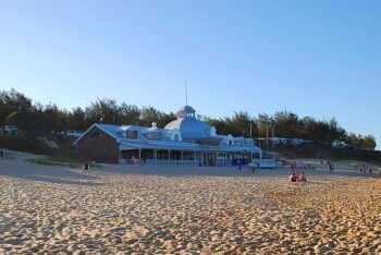 The Santos Beach Pavilion, Mossel Bay, Garden Route, Western Cape